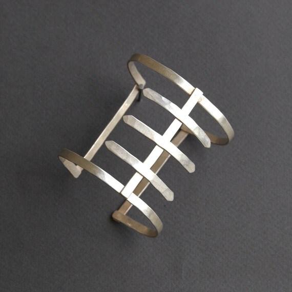 Silver Spine Cuff