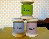 """Washi tape """"days of the week"""". 3.00 for set"""