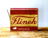 Flinch Card Game Vintage Retro Game Flinch Men's Card Game Fathers day