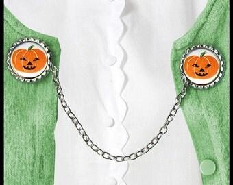 Pumpkin Sweater Guard Clip