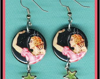Outer Space Girl EARRINGS