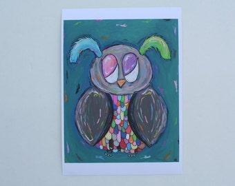 Rainbow Owl Reprint