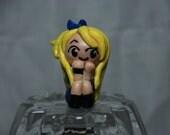 Fairy Tail Anime cartoon Lucy mini chibi character