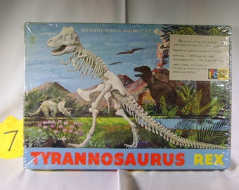 1960's ITC/ModelCraft Tyrannosaurus Rex model kit