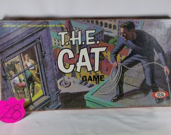 1960's Ideal T.H.E. Cat Game