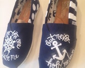 Navy Anchor TOMS
