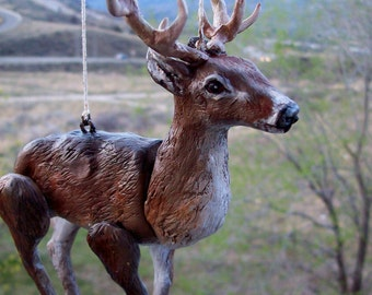 Custom Made Realistic Woodland Animal Marionette
