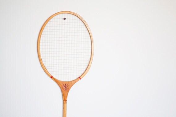 BOGO SALE///Vintage Badminton Racquet