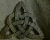 Celtic Heart Triquetra