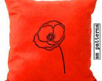 Machine Embroidery Design - Poppy Pack
