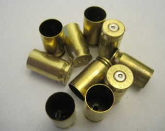 Lot of 10 .45ACP fired shell casings for Jewelry/Arts & Craft making - Random