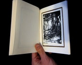 Earth Magic - handmade witchcraft book -black and white photographs 37/100