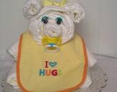 Baby Yellow Diaper Bear