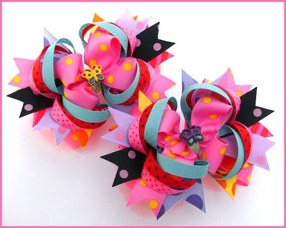 boutique style hair bow tutorial boutique hair bow hair bow by diyboutiqueshoppe 6832
