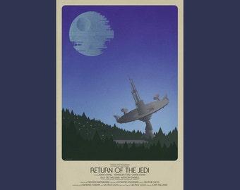 "Star Wars Episode VI Return of the Jedi Print (24""x36"")"