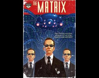 """The Matrix Pulp Cover (12""""x18"""")"""