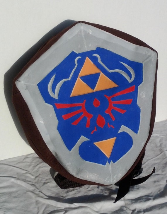 Legend of Zelda: Ocarina of Time Hylian Shield Backpack Made-to-Order