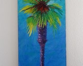 2004 Palm Tree Oil Painting by g9