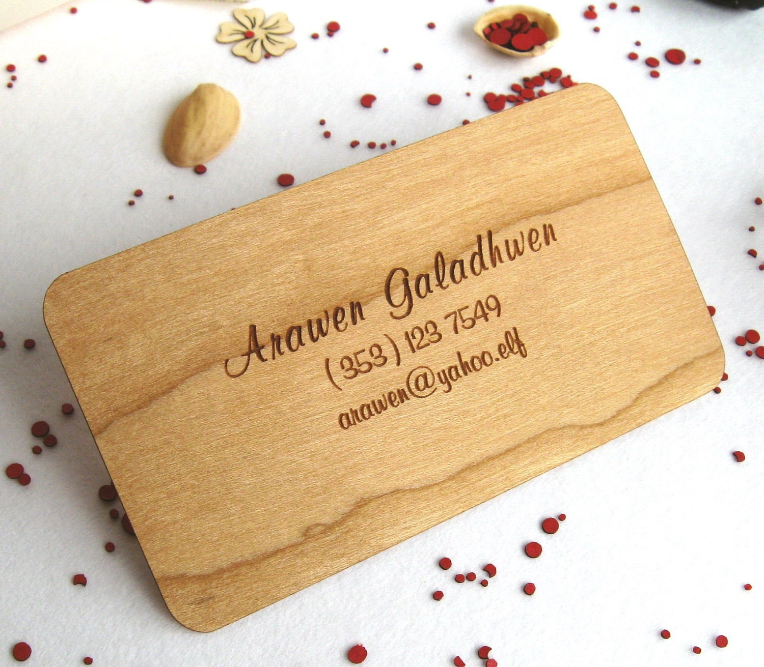 engraved wood business cards 100 wooden business cards wood