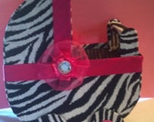 RESERVED for: whitneygolden1985  (Zebra theme Baby Carriage)