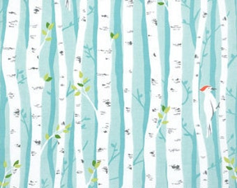 SALE! 1/4m Backyard Baby - Birch Forest - Michael Miller