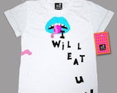 I will eat u t-shirt by Mini miss lucy. (All sizes available.)
