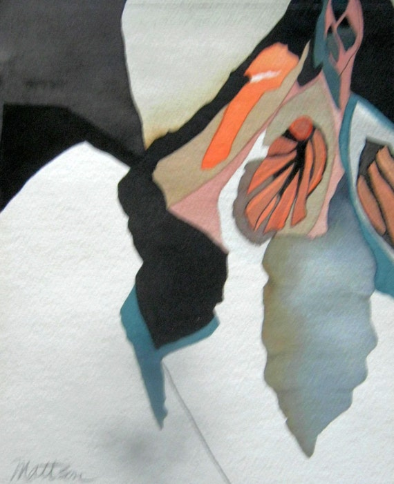 """Monarch Series :  """" A Continuation """"   Original, One-of-a-Knid"""