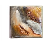 Earth and grey tones color oil painting  5