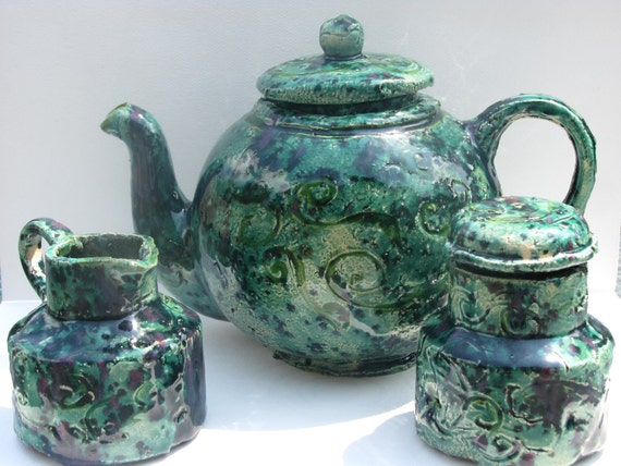 Fairy Green Tea set