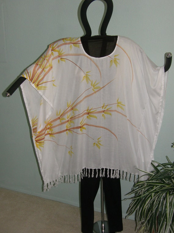 PLUS SIZE TOP - Vacation in the Tropics -- You Need This