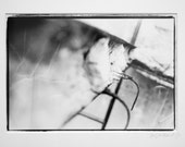 Untitled, Black and White Dark Room Print, Framed and Matted.