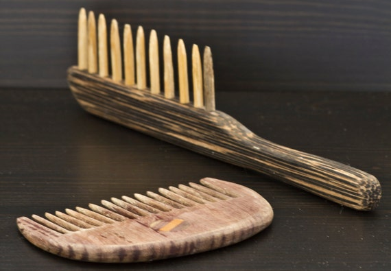 Hand Made Wooden Combs