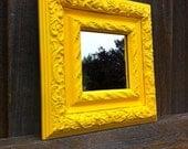 Bright Yellow Mirror
