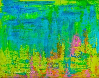 Aurora - Original Abstract Painting