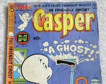 Casper the Friendly Ghost Comic Book No. 211 1980
