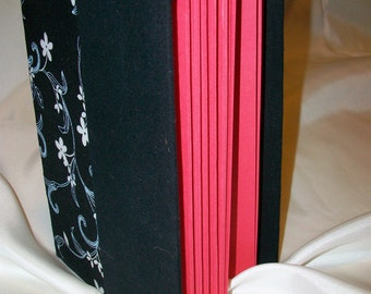 Small Black and Red Journal