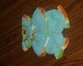 Handmade Crochet Potholder Set