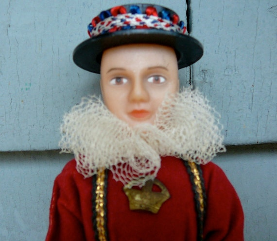 Vintage Rexard Costume Doll England