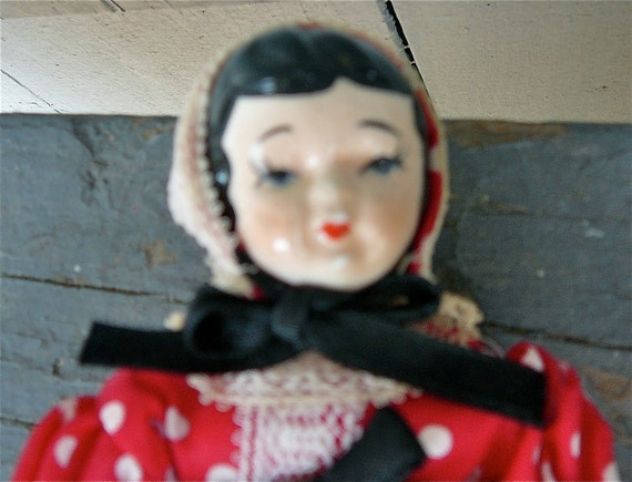 Little Red Riding Hood 1950's Doll