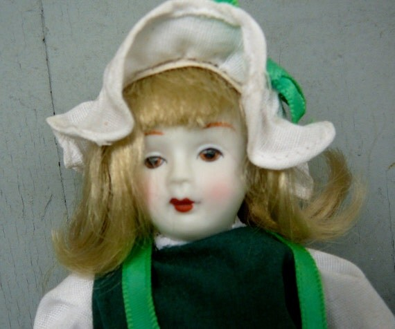 2 Vintage Dolls Bisque Faces