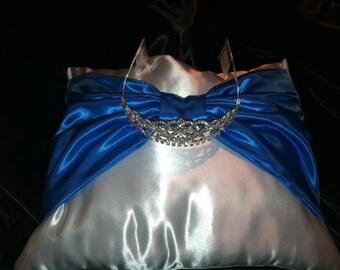 Satin Ring Bearer Wedding/ Sweet 16 pillow