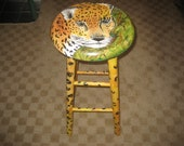 Barstools - Hand-painted