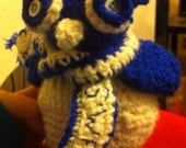 Sheffield wednesday football owl mascot (crocheted)