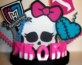 MONSTER HIGH Cake Topper with Add On Number