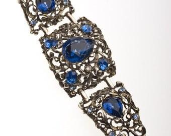 Chunky Sapphire Bracelet