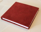 dark red velvet book, sketch book