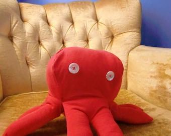 ON SALE! Cornelius the Red Octopus