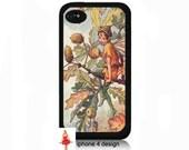 Vintage Fairy Iphone 4/4s case, Iphone case, Iphone 4s case, Iphone 4 cover, i phone case, i phone 4s case