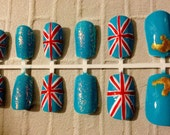 Union Jack / Queen's Jubilee Nails