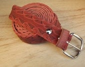 Bicycle Tire Belt - Red Hybrid Tread - No. 40
